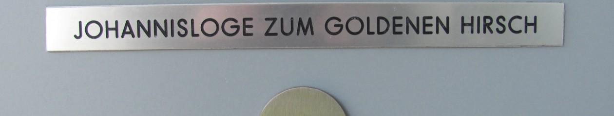 Johannisloge ZUM GOLDENEN HIRSCH